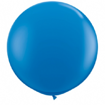 3ft Giant Balloons - Dark Blue Latex Balloon 1pc
